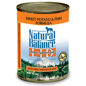 Natural Balance L.I.D. Limited Ingredient Diets Fish and Sweet Potato Wet Dog Food