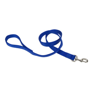 "Coastal Double Nylon Lead 4' - 1"" Blue"