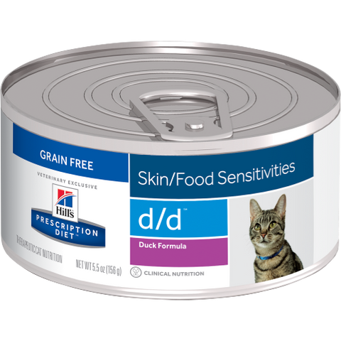 Hills Prescription Diet D/D Duck Wet Cat Food