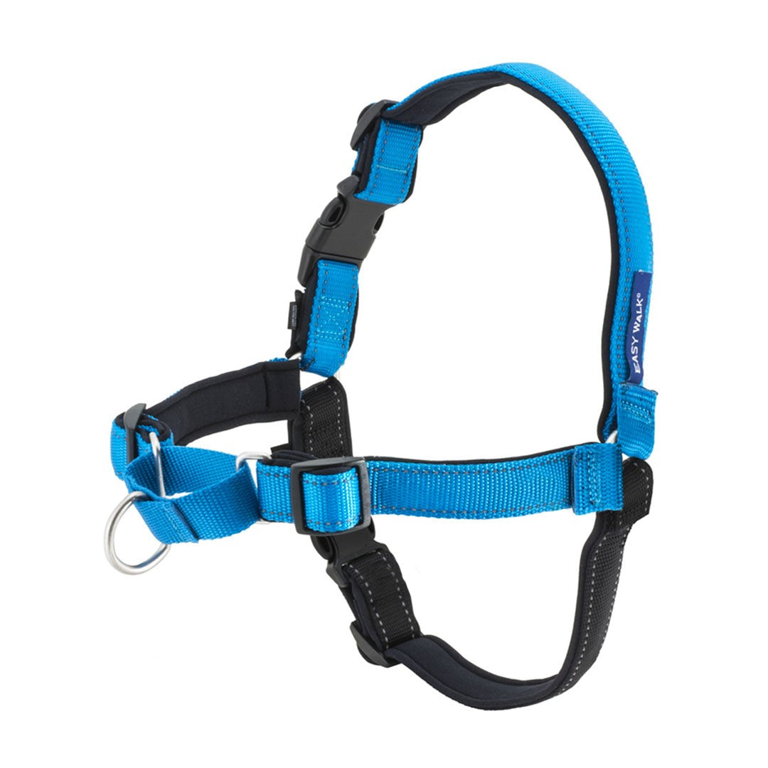 Premier Easy Walk Deluxe Harness Medium/Large Blue
