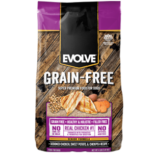 Evolve Senior Chicken, Sweet Potato & Chickpea Dry Dog Food