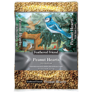 Feathered Friend Peanut Hearts