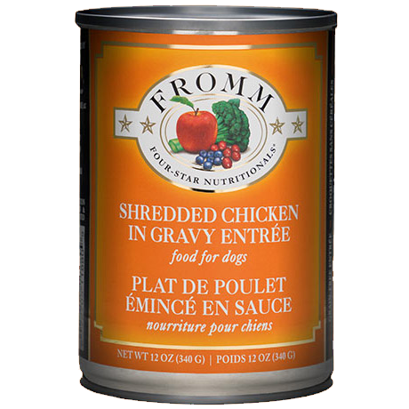 Fromm 4 Star Shredded Chicken in Gravy Wet Dog Food