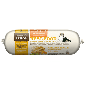 Freshpet 1 lb. Roll Nature's Fresh Chicken, Peas, Carrots & Brown Rice