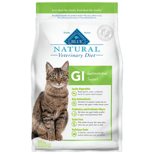 Blue Buffalo Natural Veterinary Diet GI Gastrointestinal Support Dry Cat Food