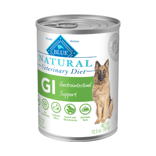 Blue Buffalo Natural Veterinary Diet GI Gastrointestinal Support Wet Dog Food
