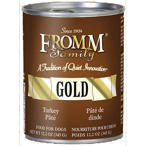 Fromm Gold Turkey Pate Wet Dog Food