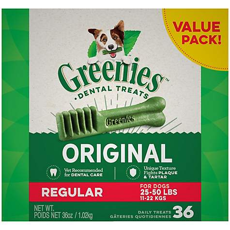 Greenies Regular (for dogs 25-50 lb.)
