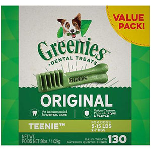 Greenies Teenie (for dogs 5-15 lb.)