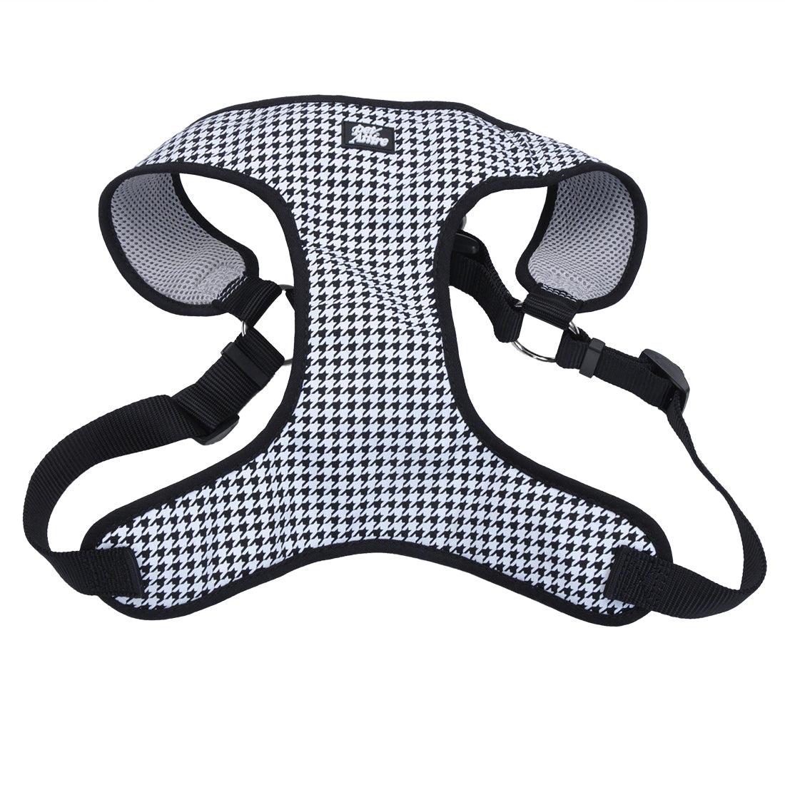 Coastal Pet Attire Ribbon Designer Wrap Harness X-Small Houndstooth