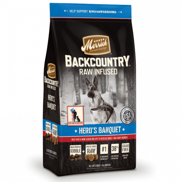 Merrick Backcountry Hero's Banquet Dry Dog Food
