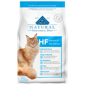 Blue Buffalo Natural Veterinary Diet HF Hydrolyzed Salmon Dry Cat Food