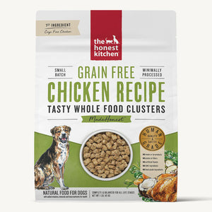 Honest Kitchen Whole Food Clusters Grain Free Chicken Recipe
