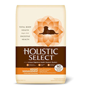 Holistic Select Grain Free Weight Management Chicken & Pea Dry Dog Food
