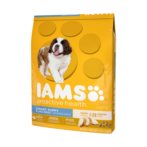 Iams Puppy Large Breed Dry Dog Food