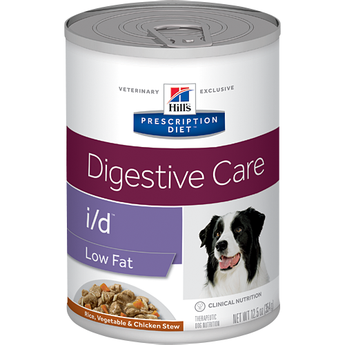 Hills Prescription Diet I/D Low Fat Rice,Vegetable & Chicken Wet Dog Food