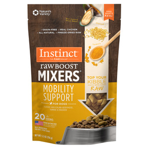 Nature's Variety Instinct Raw Boost Mixers Mobility Support