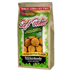K9 Granols Factory Soft Bakes Snickerdoodle Dog Treats available at The Hungry Puppy Pet Food and Supplies Farmingdale, New Jersey