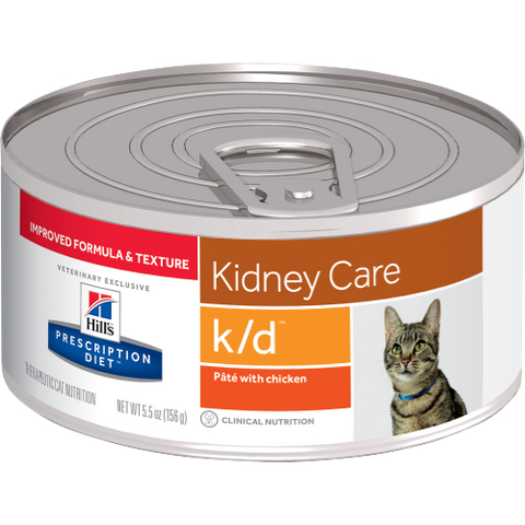 Hills Prescription Diet K/D Chicken Wet Cat Food