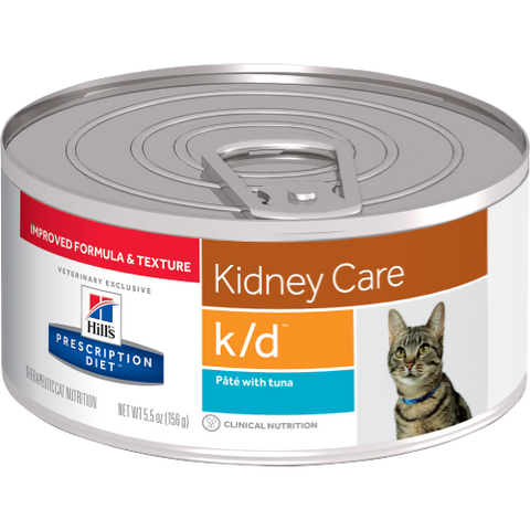 Hills Prescription Diet K/D Tuna Wet Cat Food