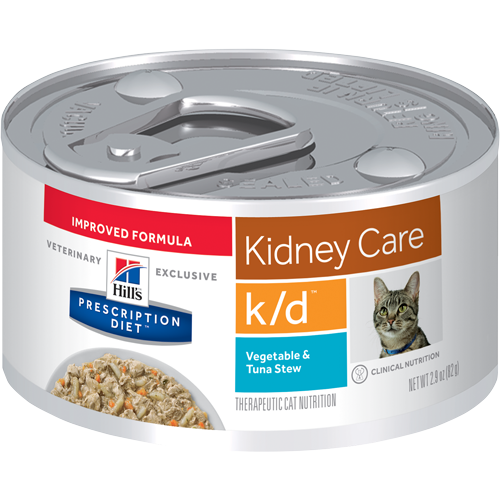 Hills Prescription Diet K/D Vegetable & Tuna Stew Wet Cat Food