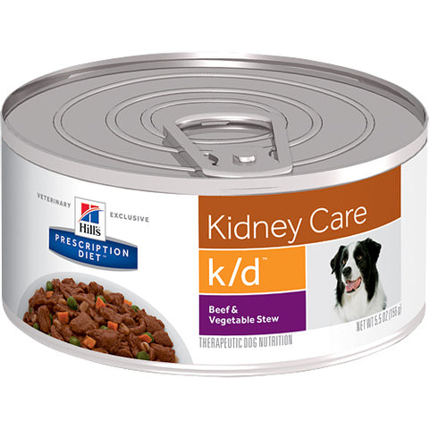 Hills Prescription Diet K/D Beef & Vegetable Stew Wet Dog Food