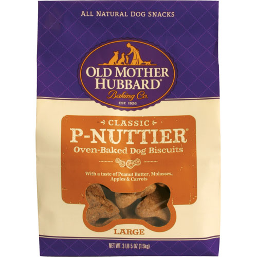 Old Mother Hubbard Large P'Nuttier Biscuits