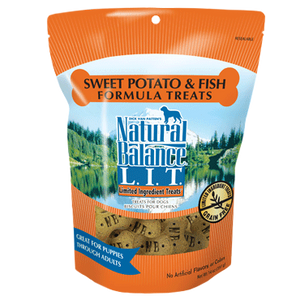 Natural Balance LIT Sweet Potato & Fish Treats