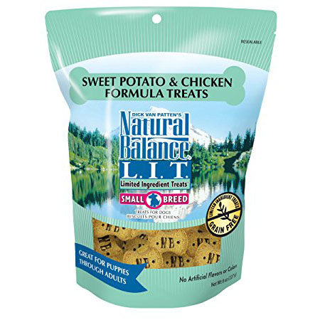 Natural Balance LIT Small Breed Sweet Potato & Chicken Treats