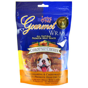 Loving Pets Gourmet Wraps Carrot & Chicken