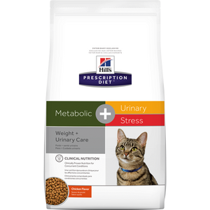 Hills Prescription Diet Metabolic + Urinary/Stress Dry Cat Food
