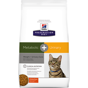 Hills Prescription Diet Metabolic + Urinary Chicken Dry Cat Food