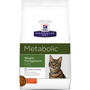 Hills Prescription Diet Metabolic Chicken Dry Cat Food