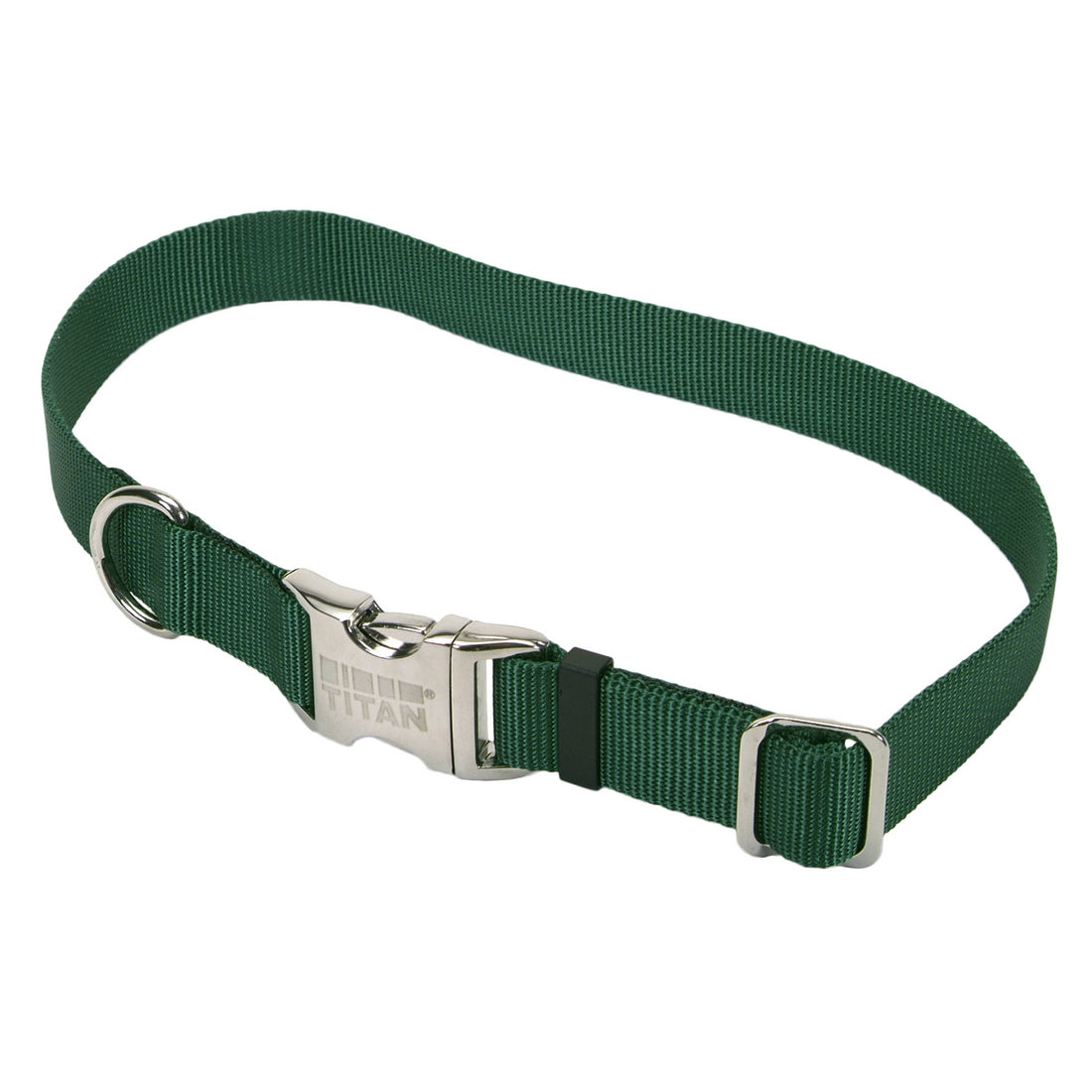 Coastal Adjustable Nylon Collar with Metal Buckle Large Hunter