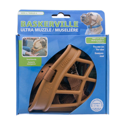 Company of Animals Baskerville Ultra Muzzle Tan