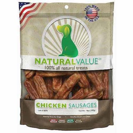 Natural Value Chicken Sausages