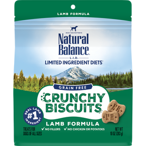 Natural Balance LID Crunchy Biscuits Lamb