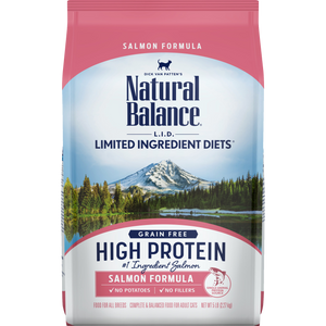 Natural Balance High Protein Salmon Dry Cat Food