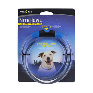 NiteHowl LED Safety Necklace Blue
