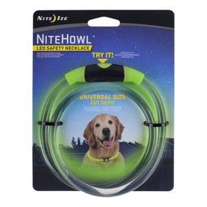 NiteHowl LED Safety Necklace Green