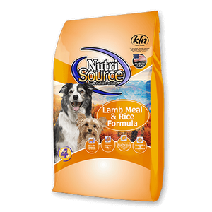 Nutrisource Adult Lamb & Rice Dry Dog Food