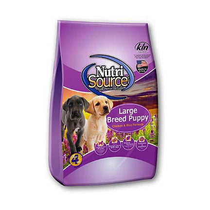 Nutrisource Puppy Large Breed Chicken Dry Dog Food