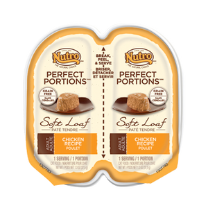 Nutro Perfect Portions Soft Loaf Chicken Recipe Wet Cat Food