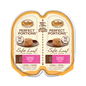 Nutro Perfect Portions Soft Loaf Turkey Recipe Wet Cat Food