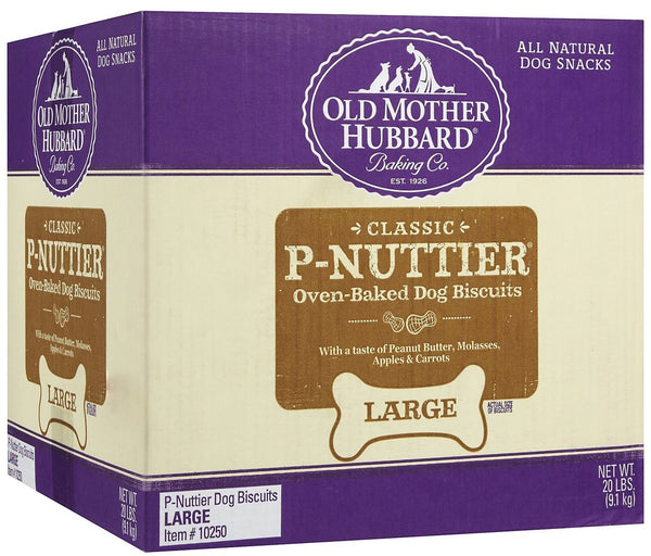 Old Mother Hubbard Large P'Nuttier Biscuits Dog Treats