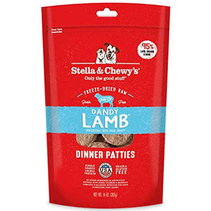 Stella & Chewy's Freeze Dried Dandy Lamb Dinner Dog Food