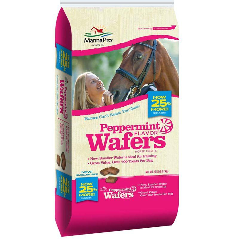 Manna 20 lb. Peppermint Wafers