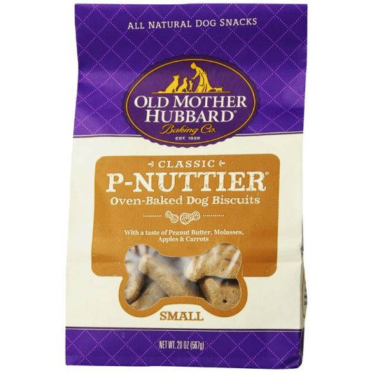 Old Mother Hubbard Small P'Nuttier Biscuits