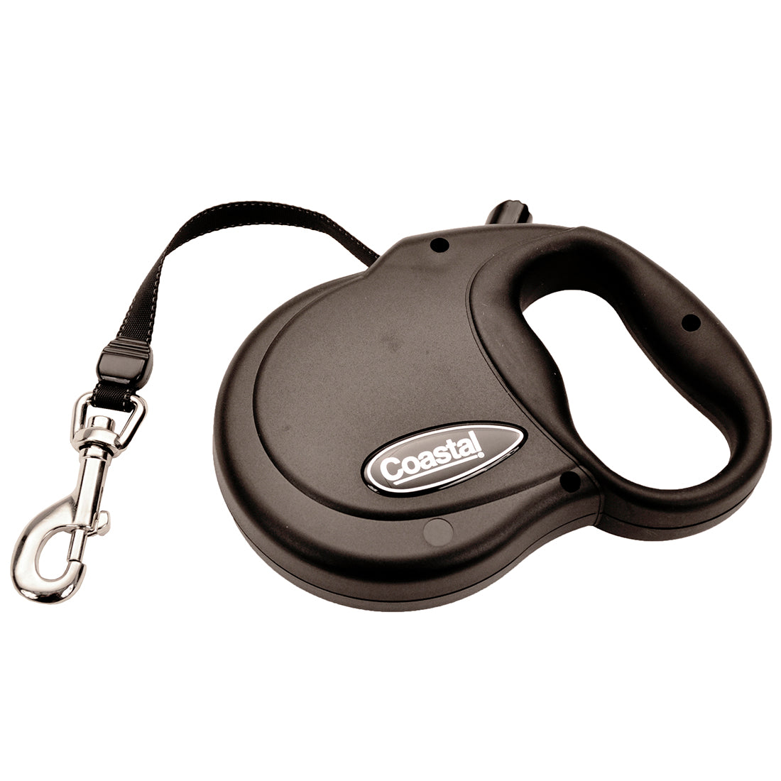 Coastal Power Walker Retractable Lead Medium 16' Black