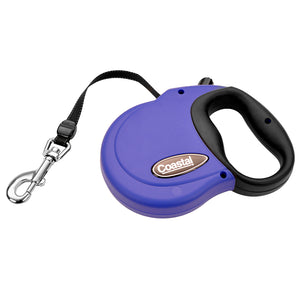Coastal Power Walker Retractable Lead Small 16' Blue